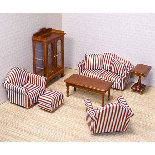 Puppenhaus Wohnzimmer M Bel Antik Echtholz Timmi