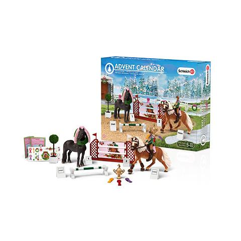 Weihnachtskalender Schleich Pferde.Schleich 97051 Adventskalender Pferde 2015