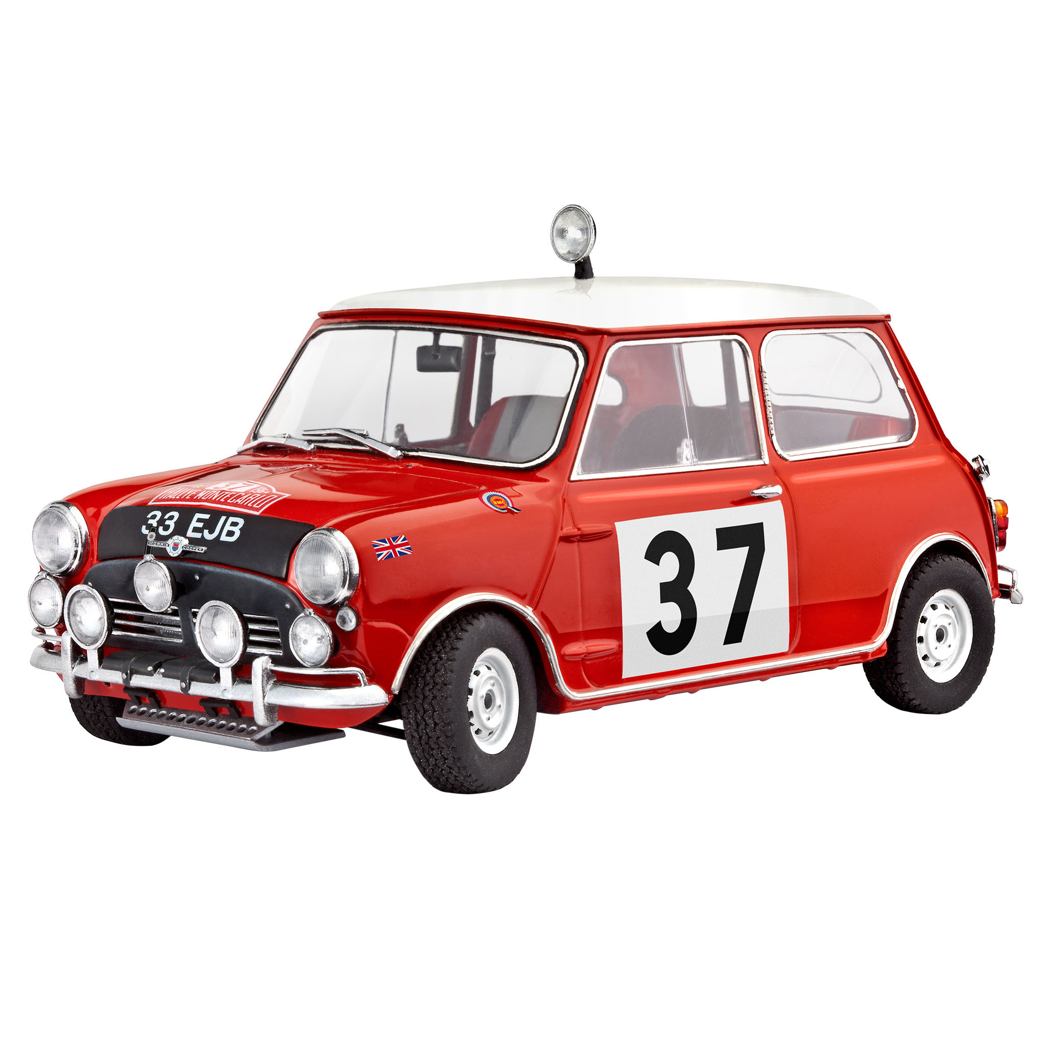 revell 67064 model set mini cooper rallye monte carlo64 timmi spielwaren onlineshop. Black Bedroom Furniture Sets. Home Design Ideas