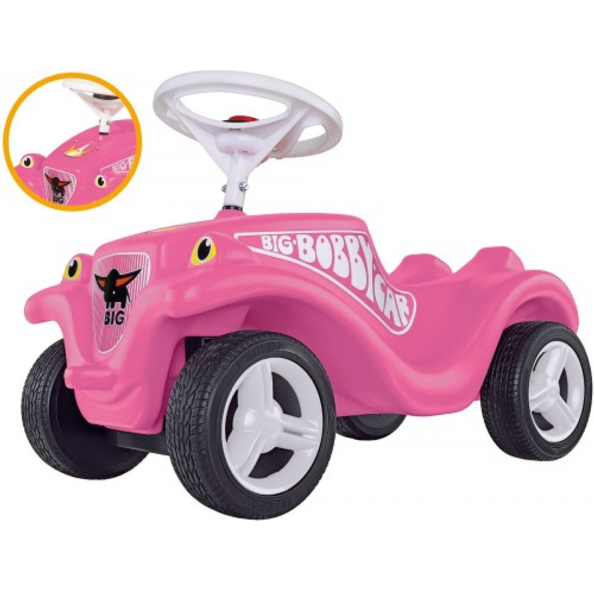 simba big bobby car princess pink weiss fl sterr der exklusiv timmi spielwaren onlineshop. Black Bedroom Furniture Sets. Home Design Ideas