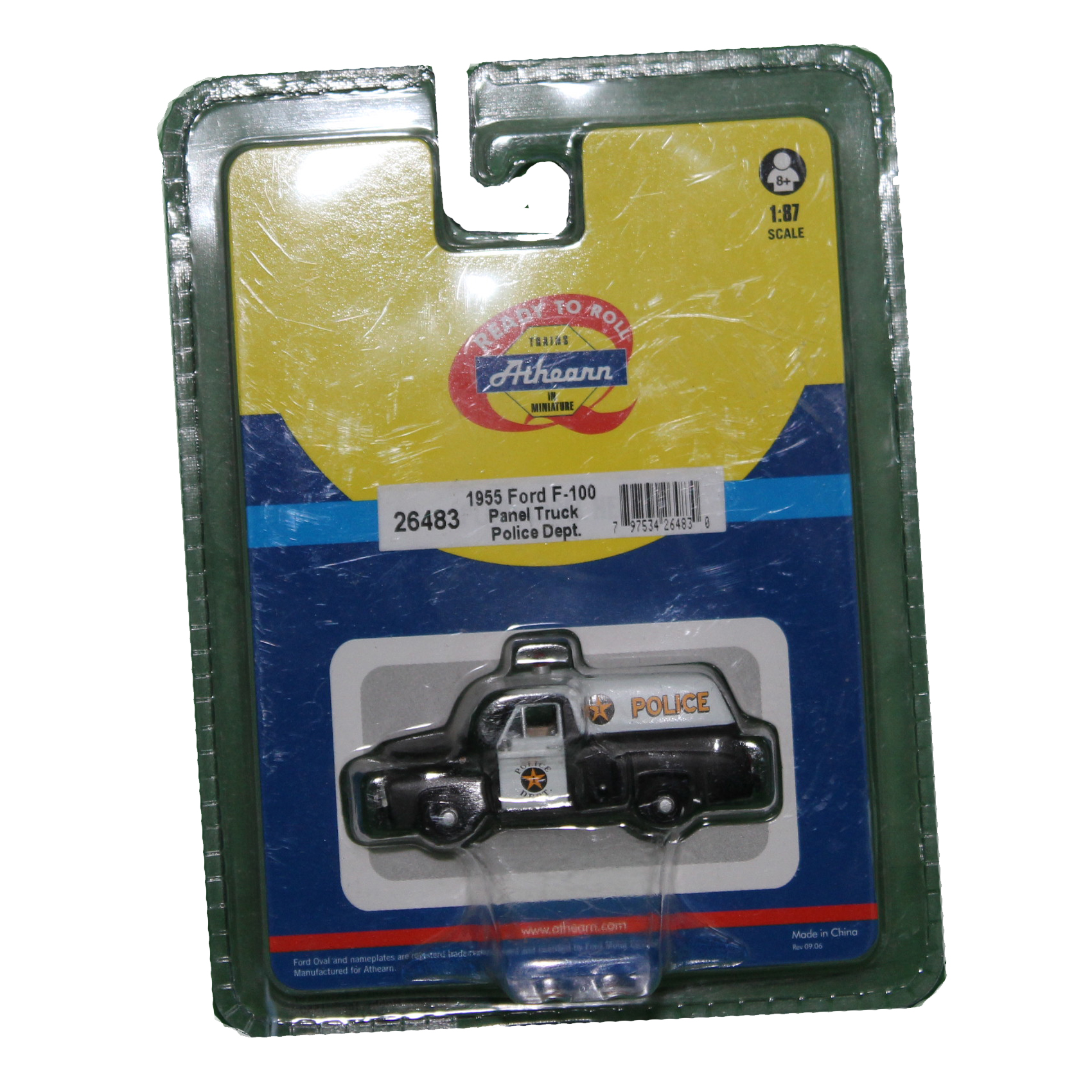 Athearn 26483 1955 Ford F 100 Police Truck 187 Timmi Spielwaren F100 Pick Up For Sale