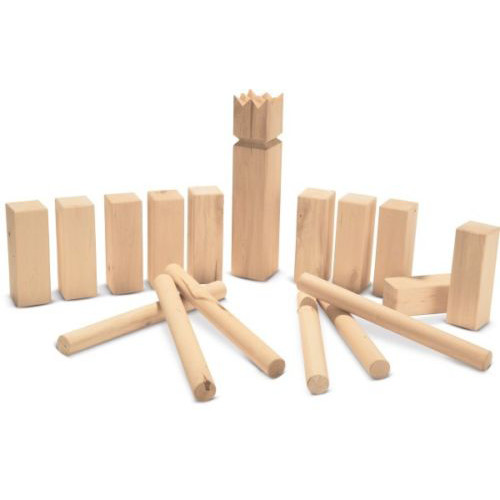 kubb spiel wurfspiel rasenschach wikingerspiel spielzeug outdoor schach holz ebay. Black Bedroom Furniture Sets. Home Design Ideas