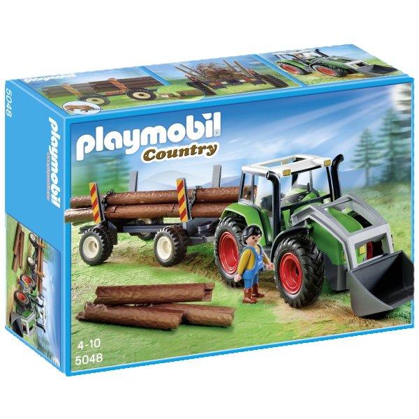 playmobil 5048 country serie traktor trecker mit. Black Bedroom Furniture Sets. Home Design Ideas