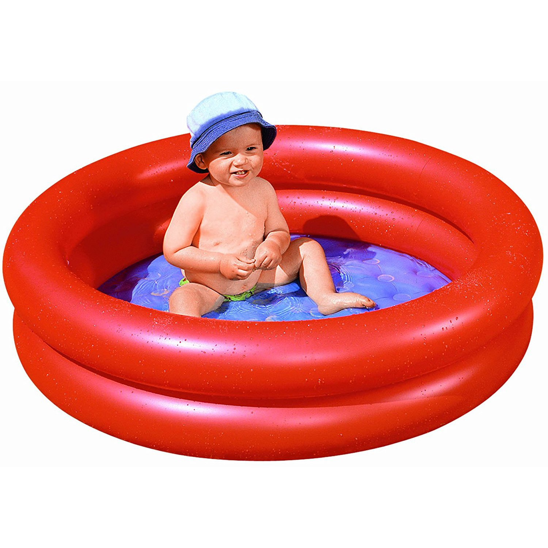 Planschbecken mit aufblasbarem boden wehncke 12070 - Piscine per bambini piccoli ...