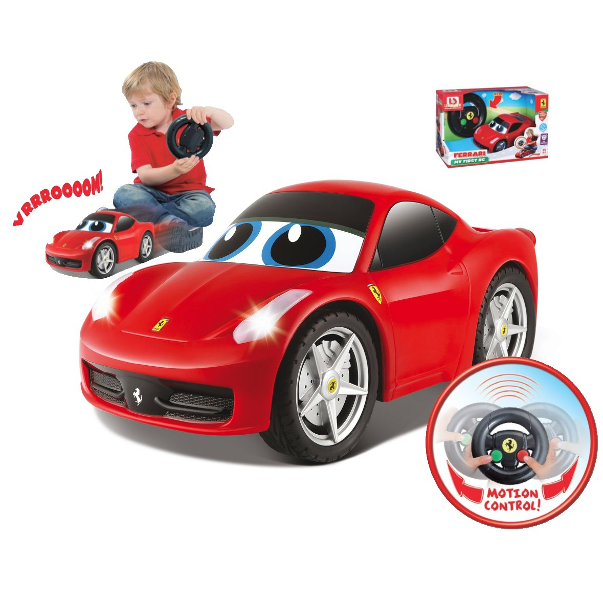 bb junior my first rc ferrari 458 italia erstes rc auto. Black Bedroom Furniture Sets. Home Design Ideas