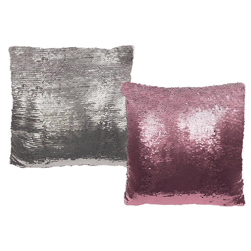 pailletten kissen 40x40 cm inkl f llung meerjungfrau kissen wechsel pailletten ebay. Black Bedroom Furniture Sets. Home Design Ideas