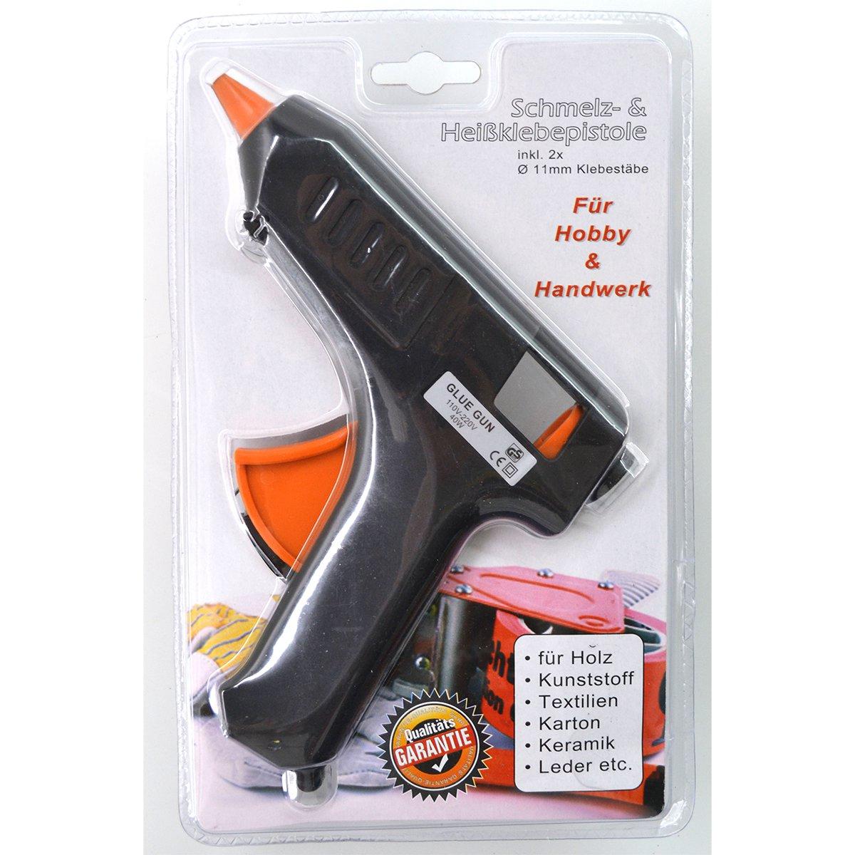 mini schmelz- & heißklebepistole 10w für handelsübliche 8mm